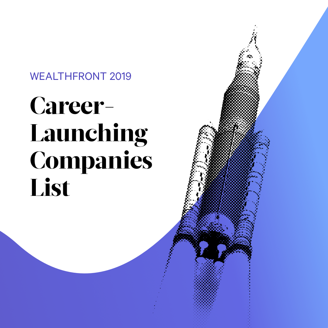 Wealthfront 2019 Career Launching Company